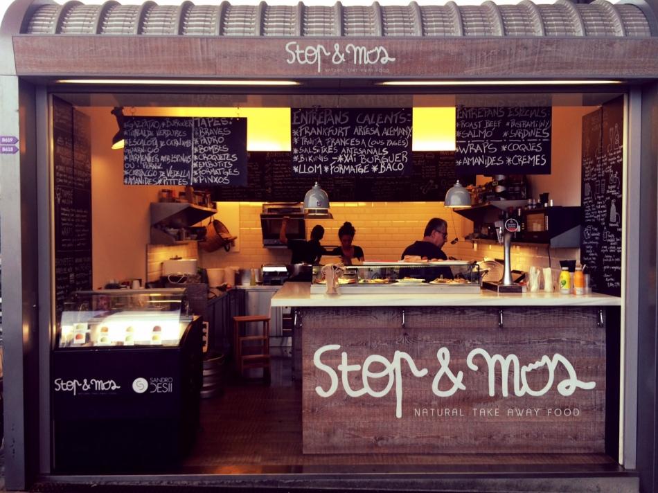 stop & nos nou mercat dels encants de barcelona