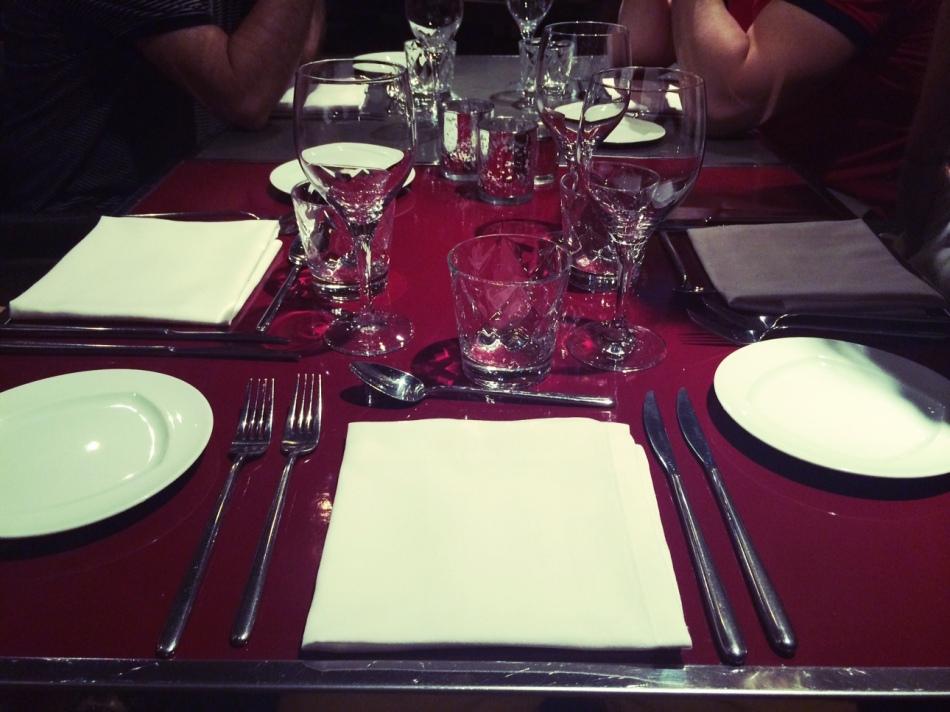 Restaurante 3 del Hotel Granados 83