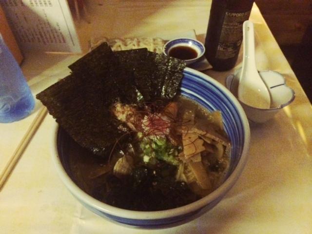Restaurante Ramen-Ya Hiro fideos de marisco