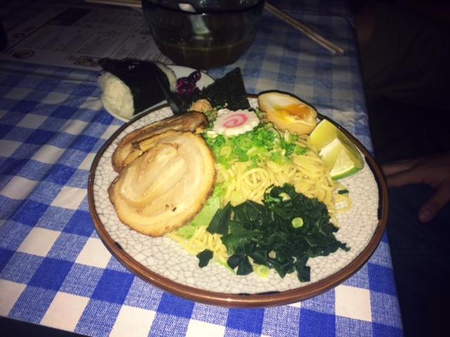 Restaurante Ramen-Ya Hiro fideos secos