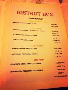 Bistrot BCN