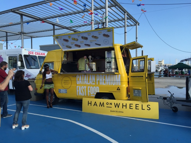food truck route ham on wheels