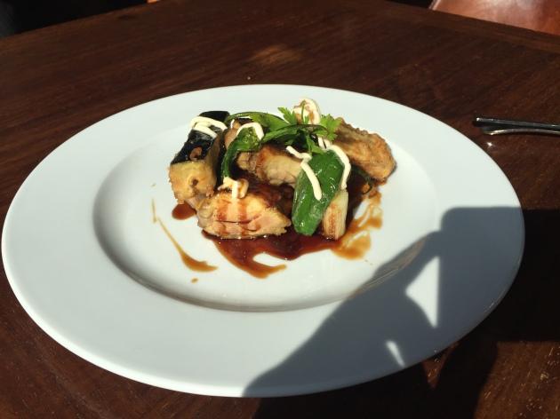 restaurante big fish pollo yakitori