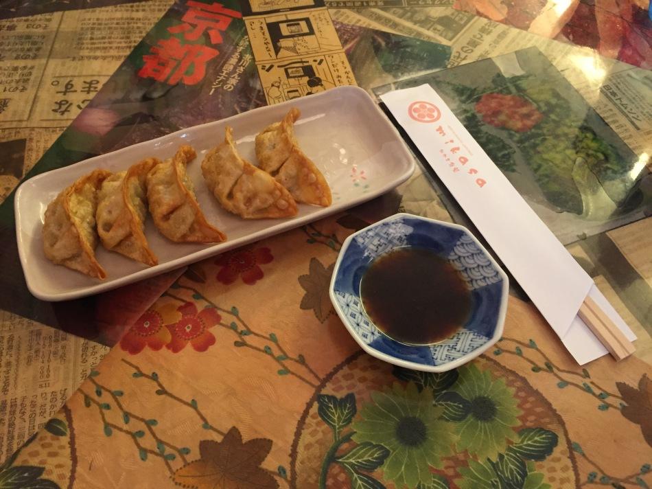 restaurante japones mikasa gyozas
