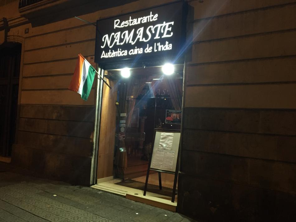 Restaurante Namaste