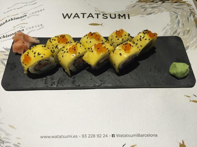 watatsumi Mango Shake Uramaki