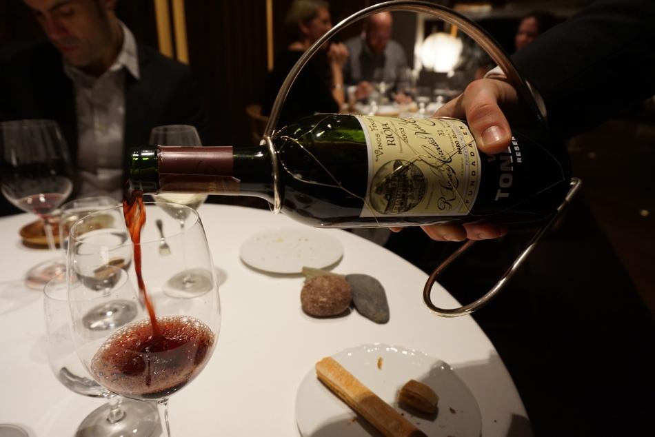 Viña Tondonia Rva 03 D.O.C. Rioja el celler de can roca 2016 maridaje