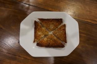 mian restaurante tostada de langostino
