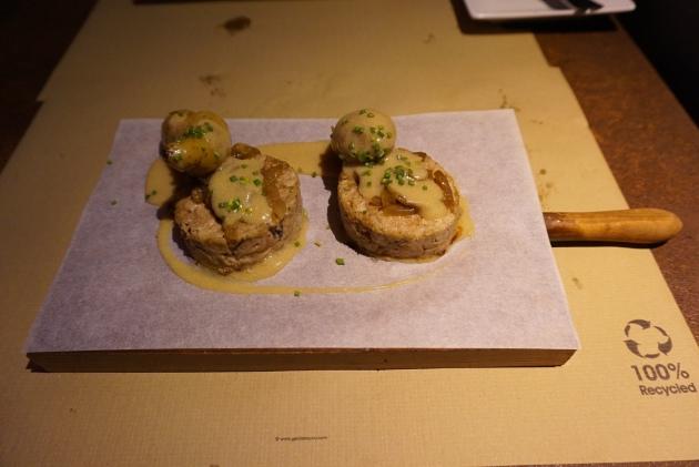 restaurante verne barcelona Espalda de Cordero