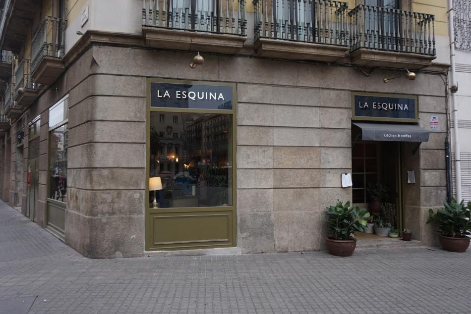 Restaurante La Esquina Kitchen Coffee en Barcelona