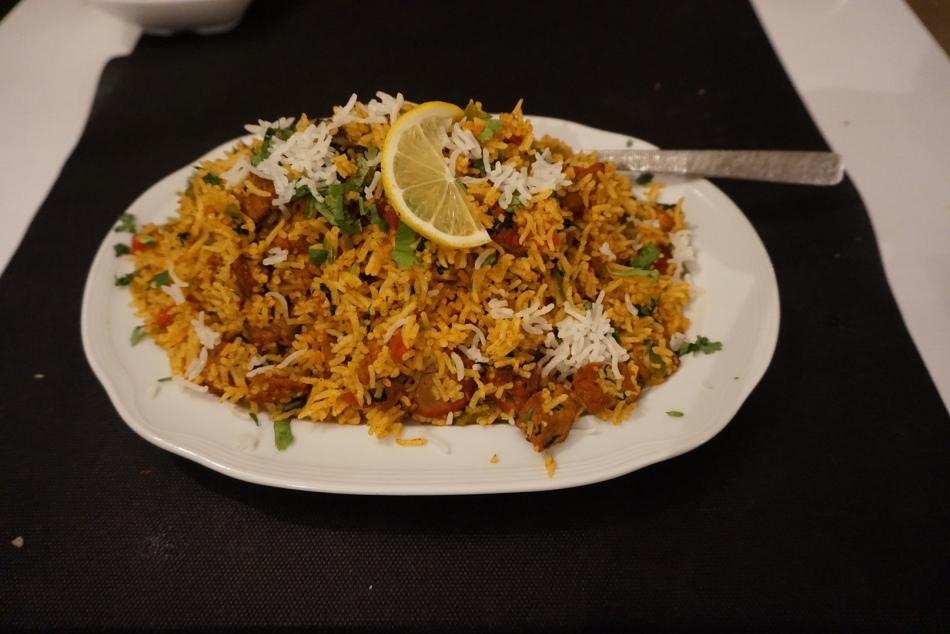 restaurante sitar arroz biryami