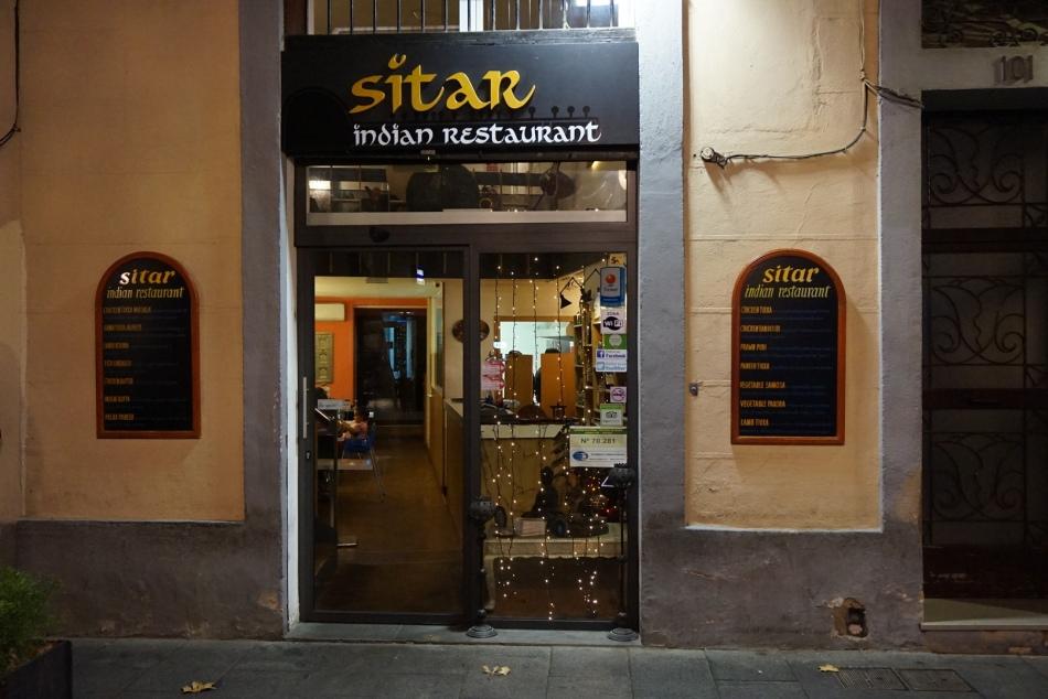sitar restaurante