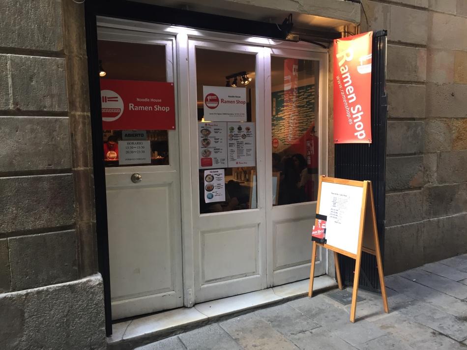 Restaurante Ramen Shop