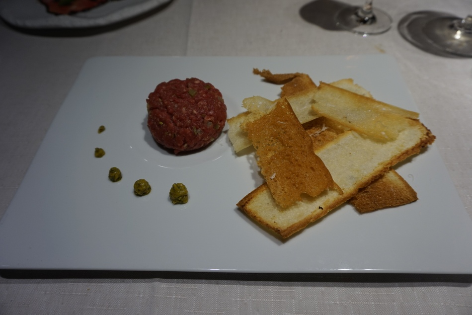 Restaurante Filigrana Steak Tartar Angus