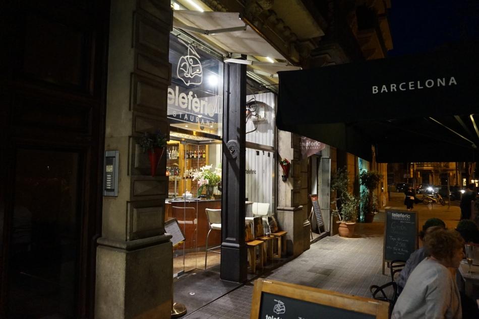 teleferic restaurant barcelona