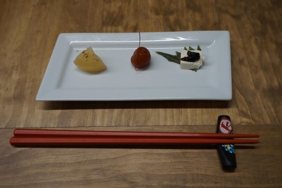 Aperitivo de Bienvenida Ichikoro Ramen