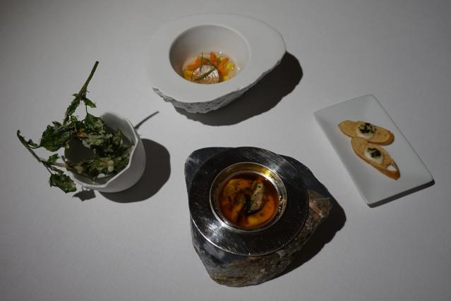 Aperitivo de verduras Mercer Restaurant Harry Wieding