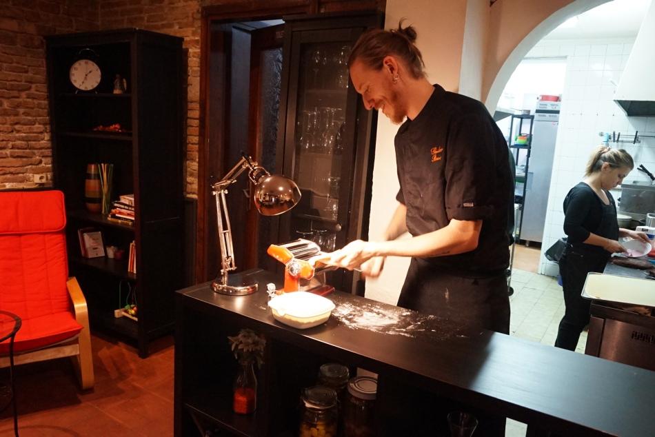 Gola Tapería Chef Giuliano Bavosi