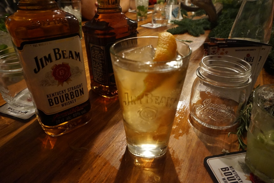 Perfect Serve con Jim Beam