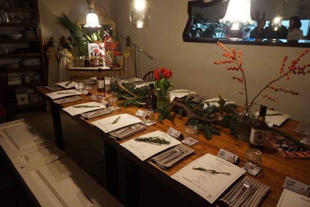Fuet Magazine & Jim Beam en Picnic Restaurant