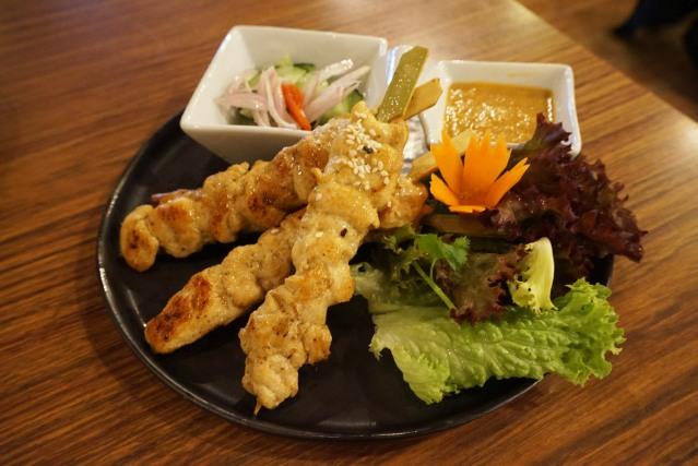 lamün cuina thai Kai Satay