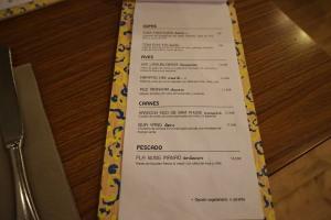 carta y platos lamün cuina thai