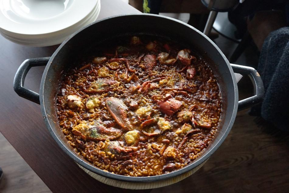 restaurant el centre arroz con bogavante