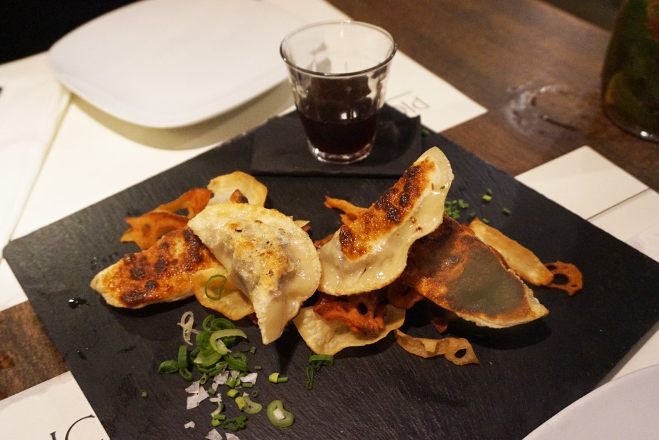 Picnic Restaurant gyozas