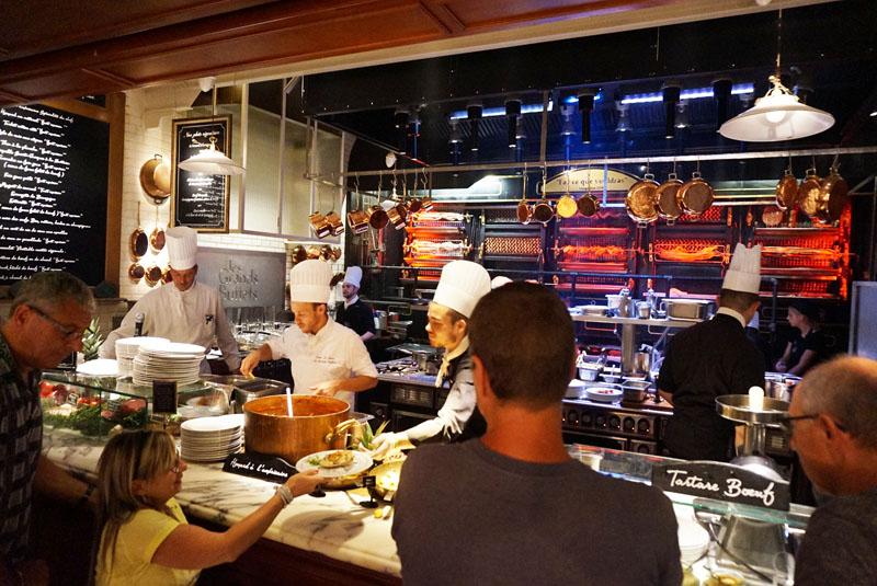 les grands buffets asados y carnes