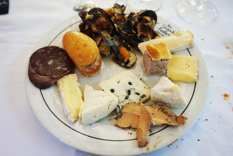 les grands buffets menu de quesos