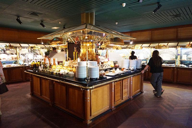 les grands buffets restaurante