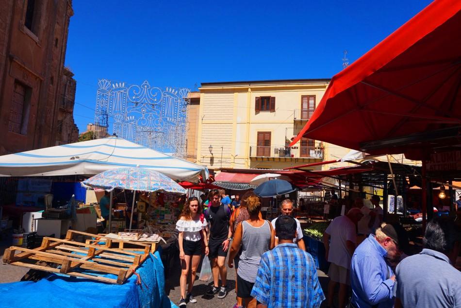Mercado de Ballaro en Palermo