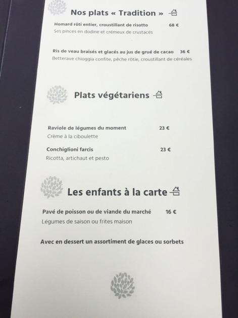 menu le petit jardin montpellier