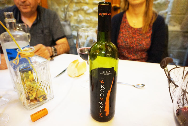biazteri restaurante Viña Argomaniz D.O.C. La Rioja